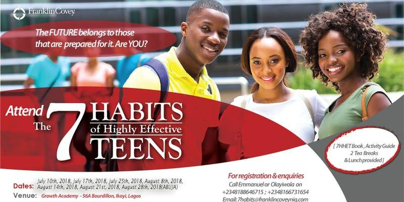 The 7 Habits of Highly Effective Teens® 1-Day Workshop