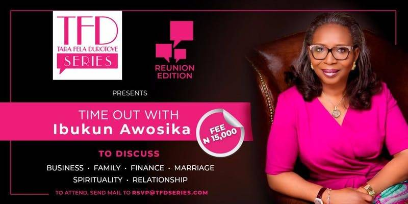 THE TFD SERIES WITH MRS. IBUKUN AWOSIKA
